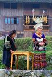 Bei villaggi originali in Guizhou, Cina Immagini Stock Libere da Diritti