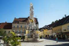 Bei Wien, Austria di Baden fotografia stock