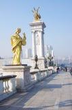 BeiAn Brücke in Tianjin China Stockfotografie