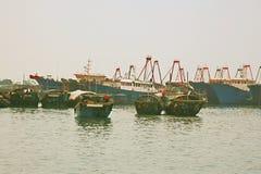Beibu Gulf of Beihai, Guangxi. Beibu Gulf, located in the northwestern part of the South China Sea, is the 1.5 closed Bay. The Leizhou Peninsula and Hainan Stock Image