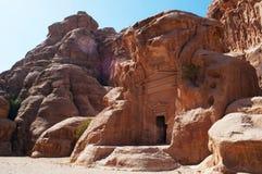 Beida, Beidah, Beidha, парк Petra археологический, Джордан, Ближний Восток Стоковые Изображения RF