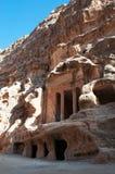 Beida, Beidah, Beidha, парк Petra археологический, Джордан, Ближний Восток Стоковая Фотография