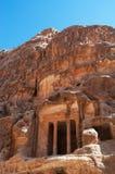 Beida, Beidah, Beidha, парк Petra археологический, Джордан, Ближний Восток Стоковые Изображения