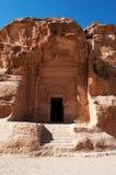 Beida Beidah, Beidha, Petra Archaeological Park, Jordanien, Mellanösten Arkivfoto