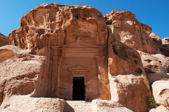 Beida Beidah, Beidha, Petra Archaeological Park, Jordanien, Mellanösten Arkivfoton