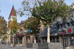Beidaihe miasta architektura obrazy stock