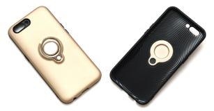 Beide Seiten einer hinteren Abdeckung des Smartphone Lizenzfreie Stockfotografie