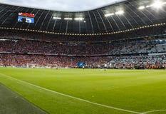 Beieren München versus Def. van cl van UEFA van Chelsea FC Royalty-vrije Stock Fotografie