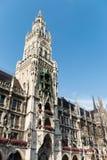 Beieren Rathaus in Marienplatz München royalty-vrije stock afbeelding