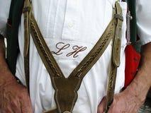 Beiers dagelijks kostuum royalty-vrije stock foto's