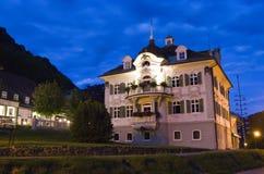 Beiers huis in Fussen Stock Afbeeldingen