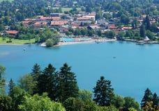 Beiers landschap stock afbeeldingen