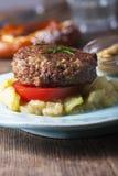 Beiers vleesbrood Royalty-vrije Stock Afbeelding
