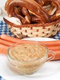 Beiers voedsel royalty-vrije stock afbeelding