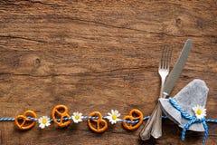 Beierse achtergrond met exemplaarruimte voor Oktoberfest royalty-vrije stock foto's