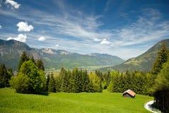 Beierse Alpen Stock Afbeelding