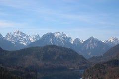 Beierse alpen Royalty-vrije Stock Foto's