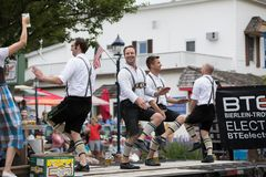 Beierse Festivalparade stock fotografie