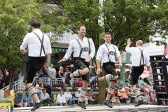 Beierse Festivalparade stock foto