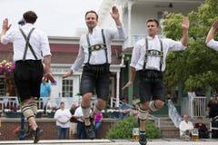 Beierse Festivalparade stock afbeelding