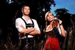Beierse het meest oktoberfest Stock Afbeeldingen