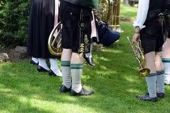 Beierse muziekband Stock Foto