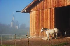 Beierse ochtend stock afbeelding