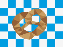 Beierse pretzel Stock Afbeelding