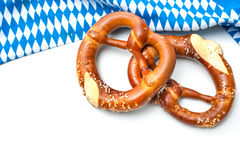 Beierse Pretzels Stock Foto