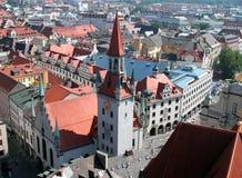 Beierse stad royalty-vrije stock afbeeldingen