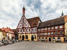 Beierse Stad van Forchheim in Franconia, Duitsland royalty-vrije stock afbeeldingen