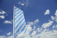 Beierse vlag. Stock Afbeeldingen