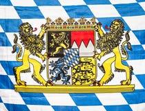 Beierse vlag Royalty-vrije Stock Afbeeldingen