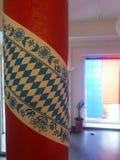 Beierse vlag en kleuren royalty-vrije stock foto