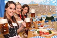 Beierse Vrouwen Stock Foto