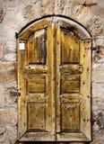 Beierse zeer oude deur Royalty-vrije Stock Foto