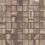 Beigamosaik för keramiska tegelplattor Arkivfoto