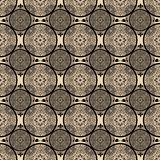 Beige abstract seamless lace pattern texture Royalty Free Stock Photos