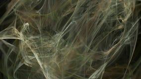 Beige abstracte de motieachtergrond van het neuronenpatroon stock illustratie