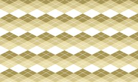 Beige Argyle Background Royalty Free Stock Image