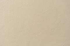 Beige Artificial Leather Background Texture Stock Image