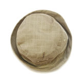 Beige baby panama hat Royalty Free Stock Photography