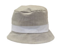 Beige baby panama hat Royalty Free Stock Photos