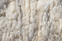 Beige background frozen river foam Stock Photos