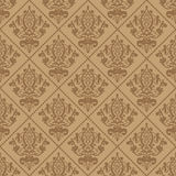 Beige background with ornament Royalty Free Stock Images