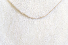 Beige background of plush fabric Royalty Free Stock Image