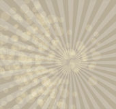 Beige background with rays randomly bokeh Stock Photos