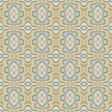 Beige background with seamless pattern. Ideal for printing Royalty Free Stock Photos