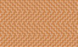 Beige background, wood texture pine wicker endless series. Chess order pattern natural Stock Image