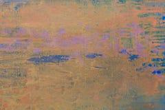 Beige backgroung Landschap met rivier en bos abstracte achtergrond De Foto van de hoge Resolutie stock illustratie